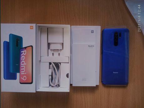 СРОЧНО смартфон Мобильный телефон Xiaomi Redmi 9 4/64GB Ocean (Global