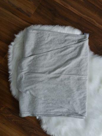 Szara elastyczna chusta do noszenia dzieci do max 15kg. Nowa