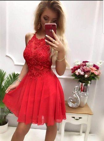 Sukienka czerwona Mercedes Pretty Woman