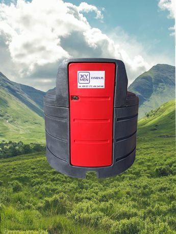 Zbiornik na paliwo ropę 2500 dwupłaszczowy