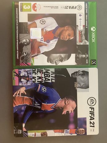 Fifa 21 xbox one + steal book
