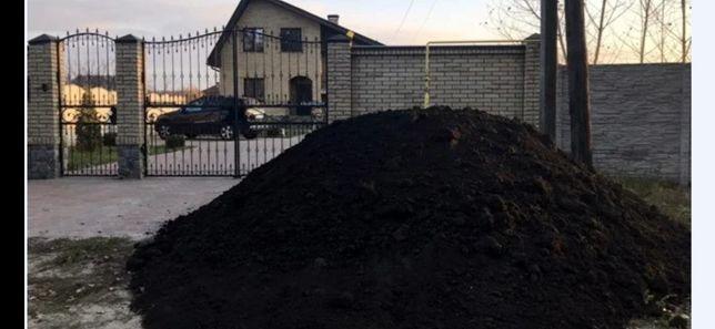 Чернозем для благоустройства вашей территории