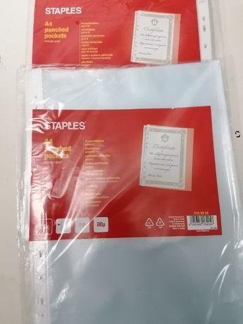 Material de escritório diverso (Pastas; separadores; porta docs