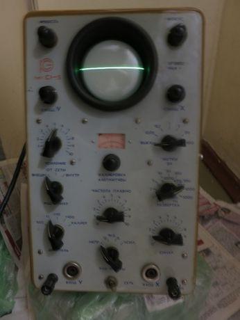 Осциллограф С1-5 (СИ-1), есть видео проверки, ссылка в тексте.
