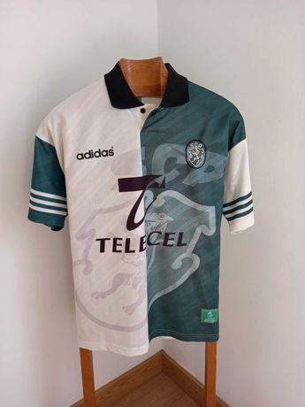 Camisola Oficial Sporting CP Adidas Stromp 1996/1997