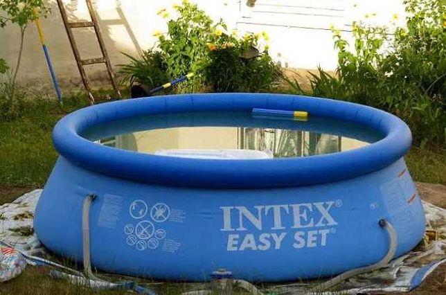 Бассейн - Безопасный новый Intex надувной - Наливной 2419л
