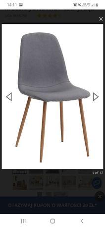 Krzesło Jysk Jonstrup szare 4 szt