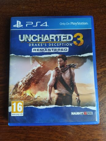 Uncharter 3 remasted Ps4