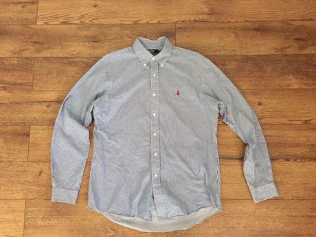 Ralph Lauren Polo koszula paski custom fit L/ XL 40/41