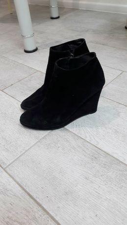 Ботинки натуральные замш,кожа. Испания, Lola Cruz