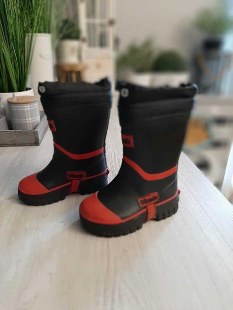 Gumiaki gumiaczki ocieplane buty na jesień  zimę