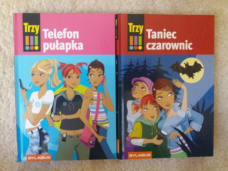 """Seria """"Trzy !!!"""" dwie książki nowe Toruń - image 1"""