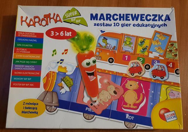 MARCHEWECZKA 10 gier edukacyjnych
