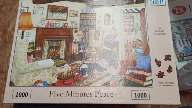 Puzzle five minutes, schmidt, nostalgia