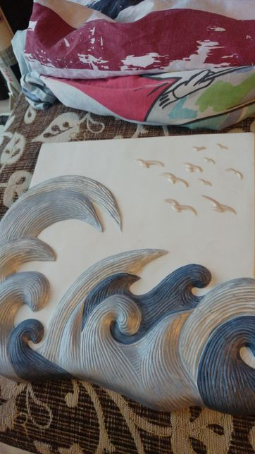 Obraz z porcelany