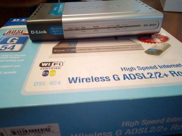 Router ADSL 2+2 + wireless pen