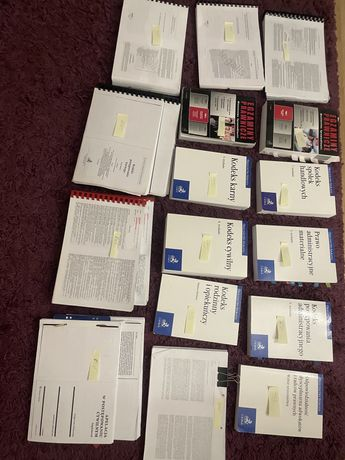Egzamin adwokacki / radcowski książki komentarze