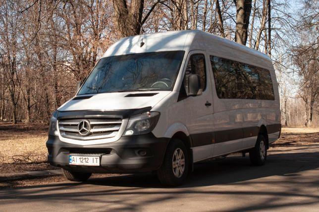 Аренда микроавтобуса, развозка, пассажирские перевозки по Киеву