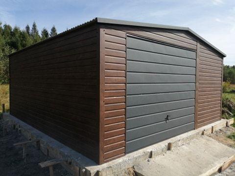 garaż blaszany garaż blaszany PREMIUM profil zamknięty 4x6 6x6 9x6