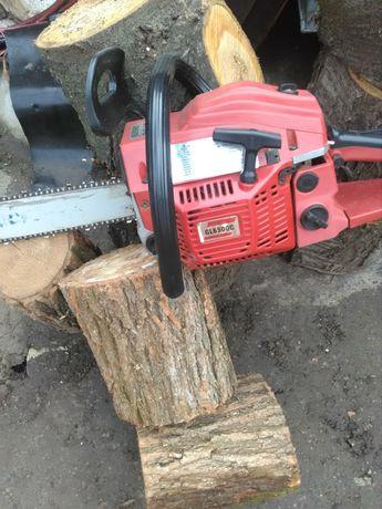 Спил дерева,распил дров на чурки