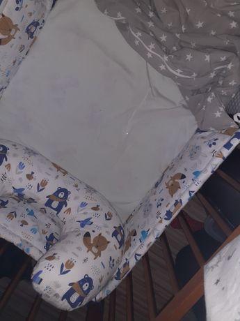 Rogal do karmienia i ochraniarz na łóżeczko