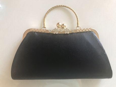 Черная сумка клач