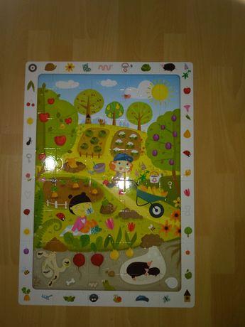 Puzzle Czu czu - ogród