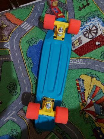 Skate penny azul