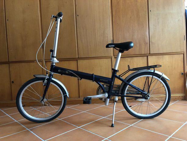 Bicicleta dobrável DAHON modelo 4130 chromoly superlight