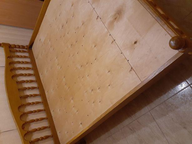 Кровать 190×200.дубовая.13000грв