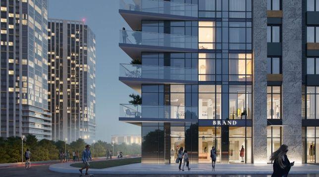 Снижена ценаМетрополис,Глушкова,однокомнатная квартира,45 м,переуступк