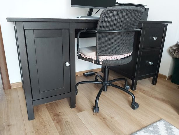 Hemnes biurko z krzesłem