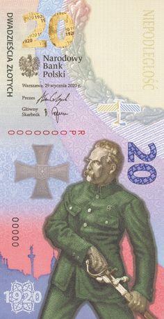 Banknot kolekcjonerski 20 zł - Bitwa Warszawska