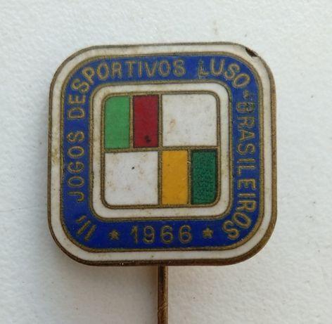 Lapela dos Jogos Desportivos Luso- Brasileiros de 1966