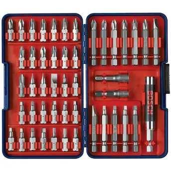 Bosch zestaw bitów 47 sztuk