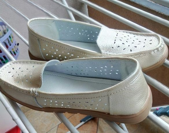 buty skórzane nr 39 nowe