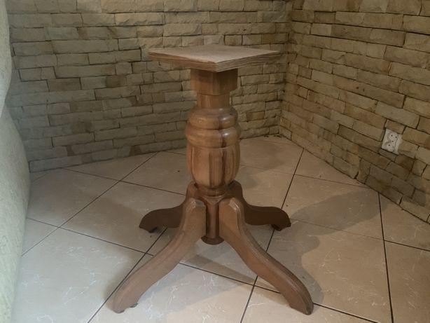 Solidna drewniana noga do stolu