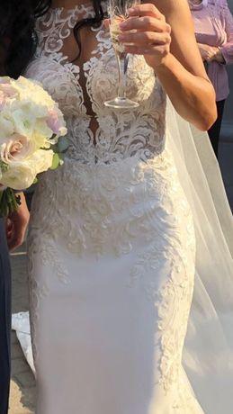 Свадебное платье Essence р.2US,куплено в США,за 3000$,цвет айвори
