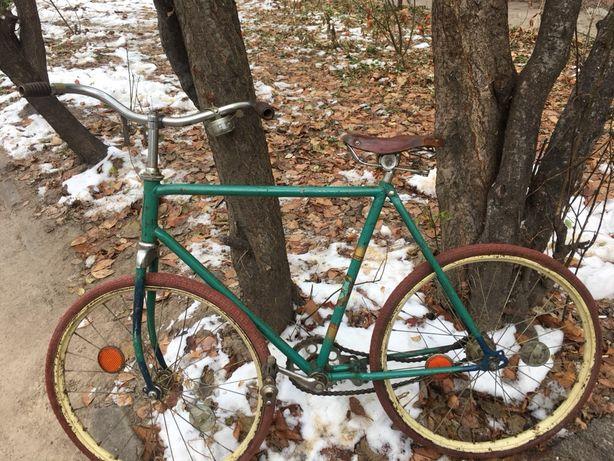 Продам старинный велосипед