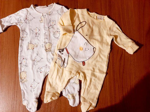 Babygrows unissexo Zara baby 0-1 mes algodão leve
