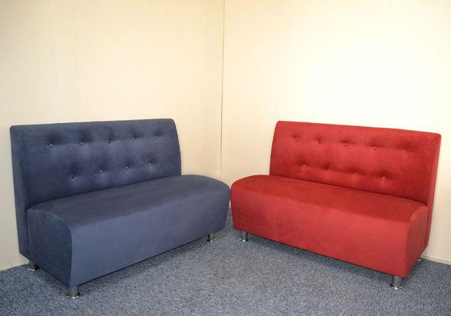 Эконом диваны для кафе с пуговицами, диванчик ожидания для офиса