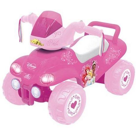 Толокар квадроцикл машинка девочке принцессы розовая Kiddieland