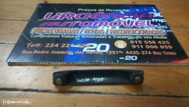 Pega Aro Friso puxador mala Com luzes Matricula - Volvo 480