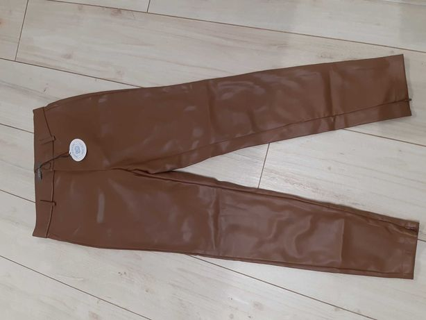 Nowe spodnie ze sztucznej skóry roz. 40