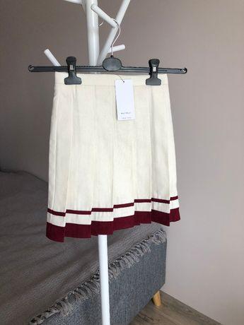 Nowa spódnica spódniczka plisowana Reserved biała 110