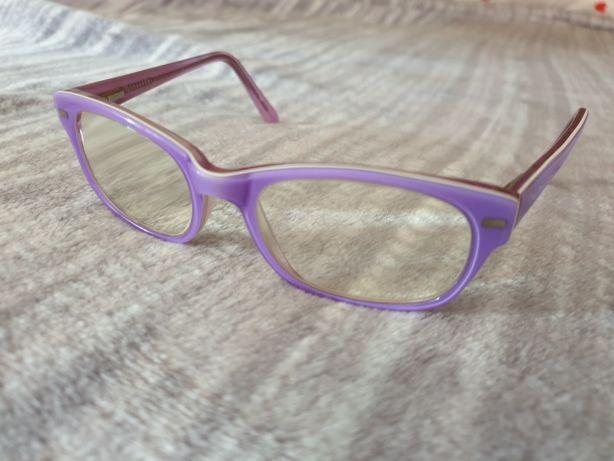 Oprawki elastyczne okulary dla dziewczynki