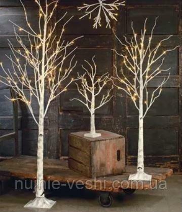 Новогоднее декоративное дерево-гирлянда  160 см 96 Led IP 44