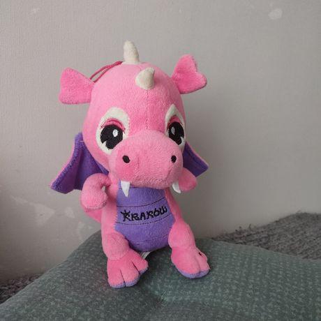 Мягкая Игрушка дракон розовый с звуком