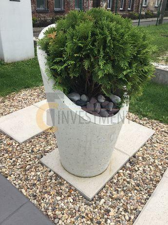 Donice ogrodowe betonowe Donica ogrodowa Taglio 30x37/75 - Duży wybór