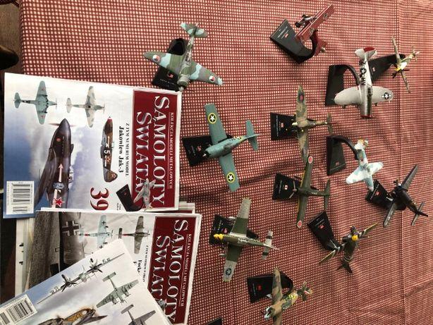 Kolekcja metalowych samolotów świata